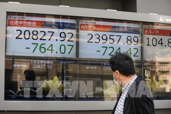 Chứng khoán châu Á phản ứng tích cực trước các số liệu kinh tế lạc quan