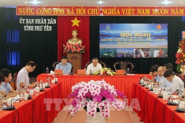Tạo mọi điều kiện hỗ trợ ngư dân yên tâm bám biển khai thác hải sản