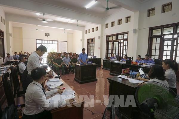 Vụ gian lận điểm thi ở Hòa Bình: Các bị cáo nói lời sau cùng trước khi vào phần nghị án