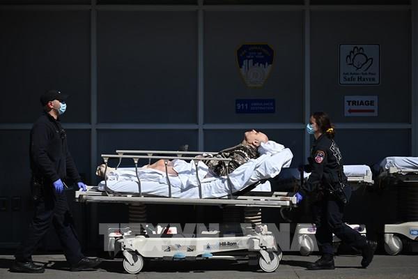 Mỹ ghi nhận thêm 1.237 ca tử vong do dịch COVID-19 trong 24 giờ qua