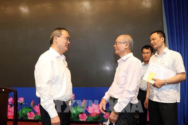 TP. Hồ Chí Minh không chấp nhận cán bộ thờ ơ, vô cảm với dân