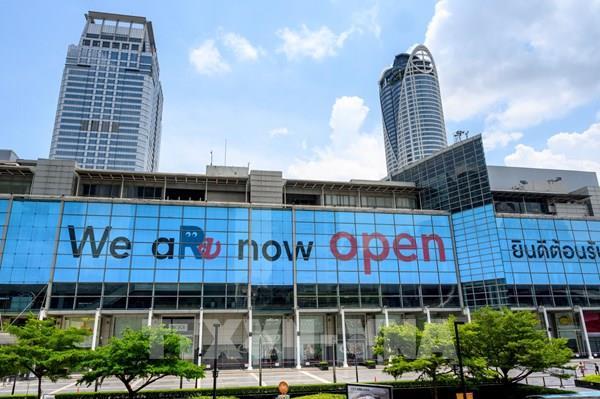 Thái Lan mở cửa trở lại trung tâm mua sắm