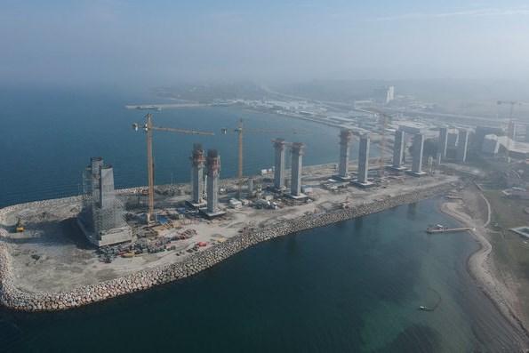 Dự án xây dựng cầu dây văng nối châu Á - châu Âu bước vào giai đoạn mới