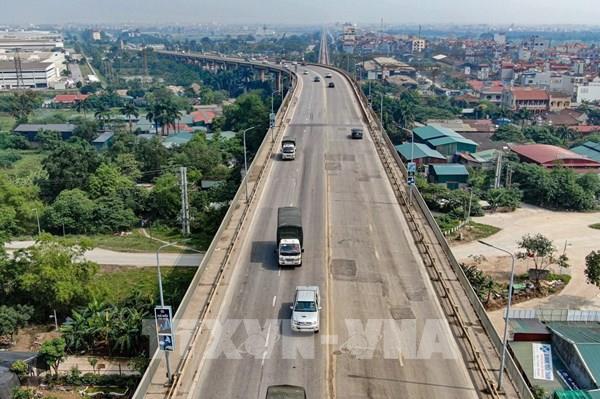 Đề nghị đặt cân tải trọng xe trên cầu Thăng Long, đường Vành đai 3 - Hà Nội