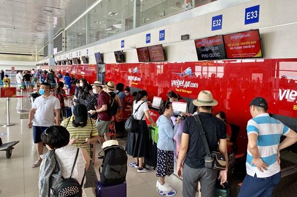 Vietjet Air thay đổi khu vực làm thủ tục tại sân bay Nội Bài