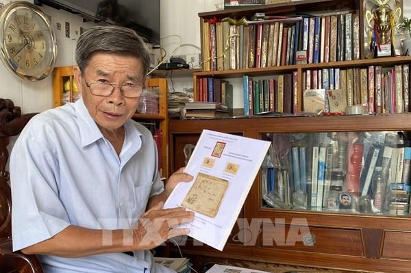 Người sở hữu những con tem quý về Bác Hồ