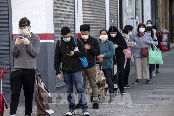 Tỷ lệ thất nghiệp của Chile cao nhất trong một thập kỷ