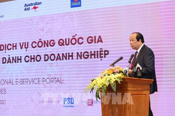 Cổng Dịch vụ công quốc gia và những lợi ích dành cho doanh nghiệp