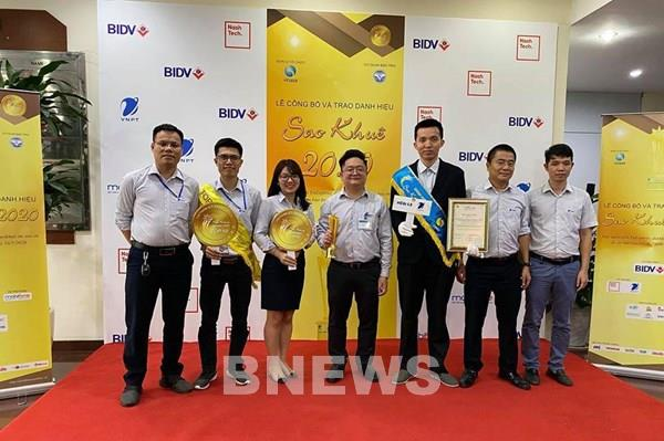 VNPT đạt 7 giải thưởng Sao Khuê 2020