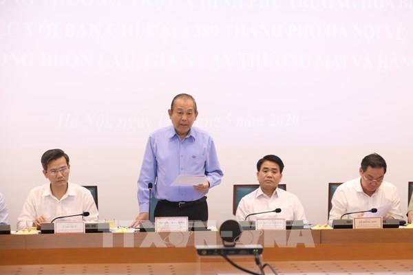 PTT Trương Hòa Bình: Quản lý cán bộ để không tiếp tay cho buôn lậu, gian lận thương mại