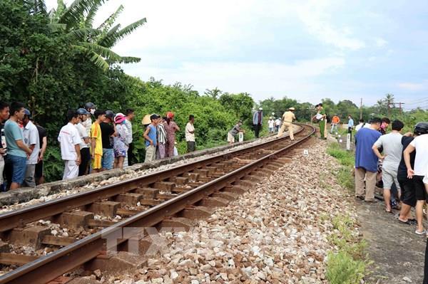 Thừa Thiên Huế: Băng qua đường sắt Bắc Nam, một người thiệt mạng