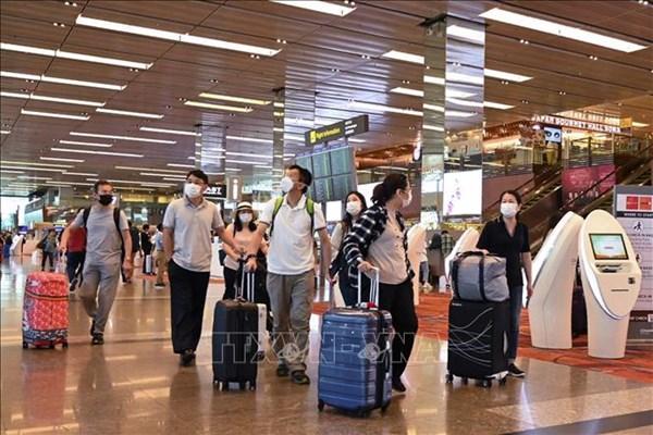 Sân bay Changi của Singapore cho phép hành khách quá cảnh từ ngày 2/6