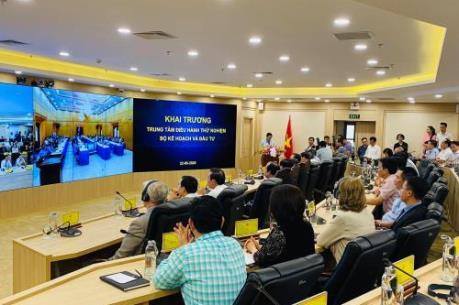 Chính thức thử nghiệm Trung tâm điều hành tích hợp Bộ Kế hoạch và Đầu tư