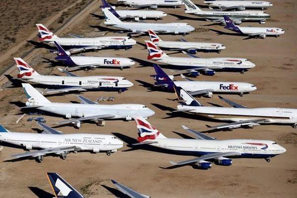 Phát đạt kinh doanh bãi đỗ và bảo trì máy bay trong mùa dịch COVID-19