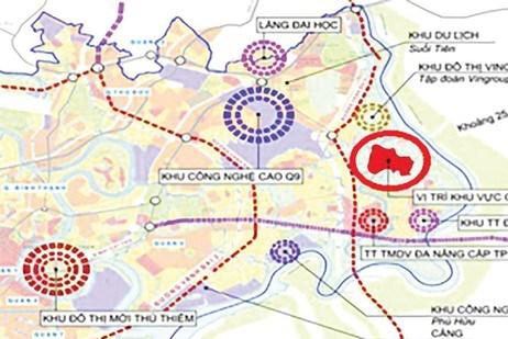 Đề xuất điều chỉnh cục bộ đồ án quy hoạch xây dựng Khu đô thị sáng tạo phía Đông