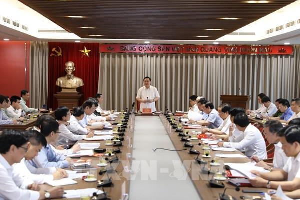 Hà Nội kiến nghị sớm ban hành cơ chế quản lý chất lượng không khí