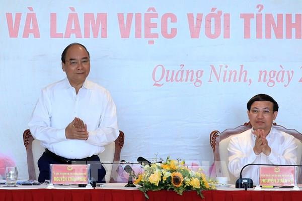 Thủ tướng: Quảng Ninh cần có chiến lược phát triển kinh tế du lịch mũi nhọn