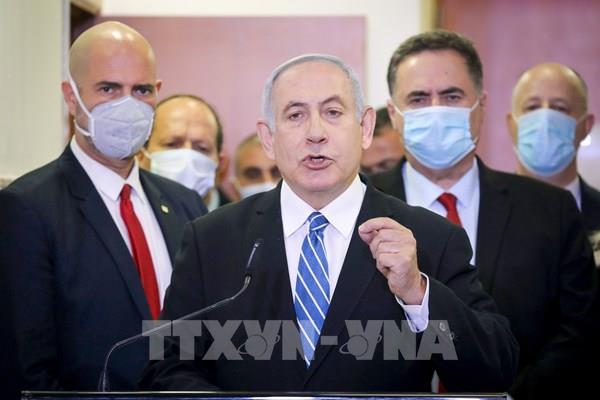 Thủ tướng Israel hầu tòa
