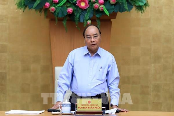 Thủ tướng Nguyễn Xuân Phúc chủ trì họp về phát triển vùng kinh tế trọng điểm