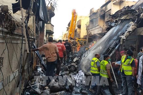 Vụ rơi máy bay chở khách ở Pakistan: Airbus điều tra nguyên nhân tai nạn