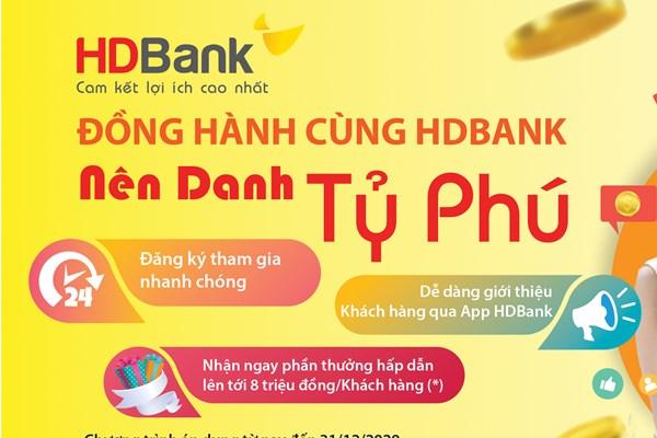 Nhiều ưu đãi khi sử dụng App HDBank