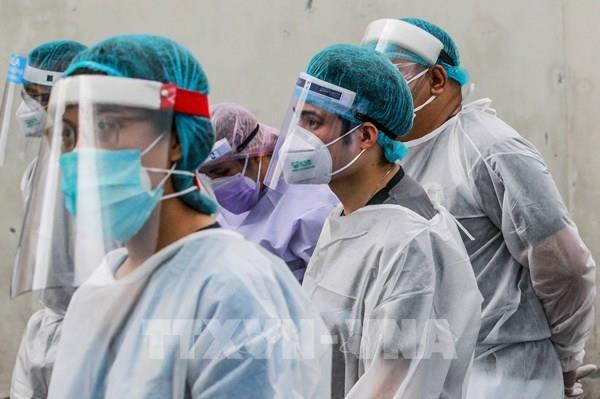 Philippines: Số ca mắc COVID mới trong ngày cao nhất từ trước tới nay