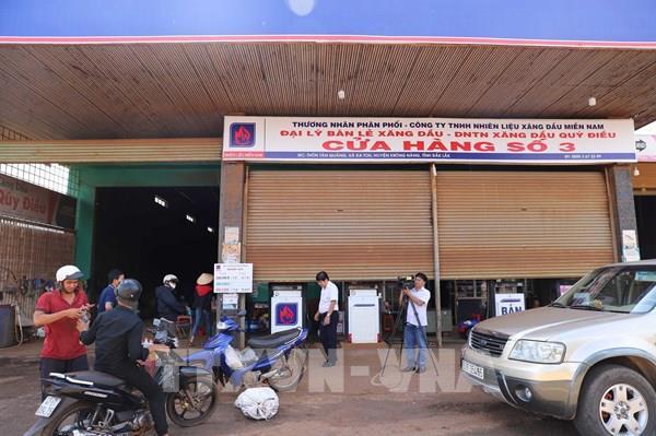 Ngừng bán xăng dầu ở Đắk Lắk chỉ là cá biệt, không có tình trạng đầu cơ, găm hàng