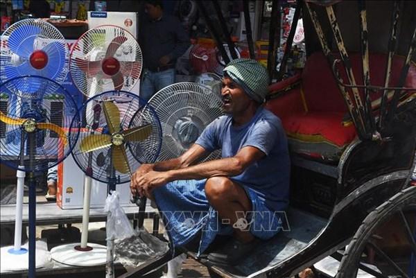 Nắng nóng ở Ấn Độ chạm ngưỡng 50 độ C