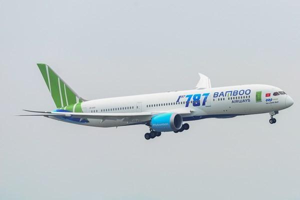 Bamboo Airways tăng tần suất 16 chuyến/ngày chặng Hà Nội – Tp. Hồ Chí Minh