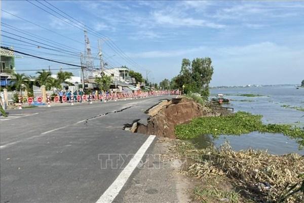 Tổng cục Đường bộ Việt Nam thông tin về rạn nứt mặt đường Quốc lộ 91 qua An Giang