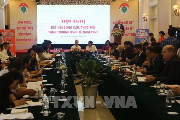 Kết nối tiêu thụ sản phẩm nội khối giữa các doanh nghiệp Việt