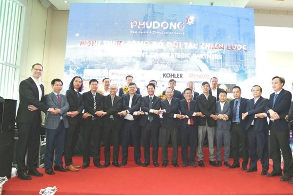 Hợp tác chiến lược phát triển dự án Phú Đông 3