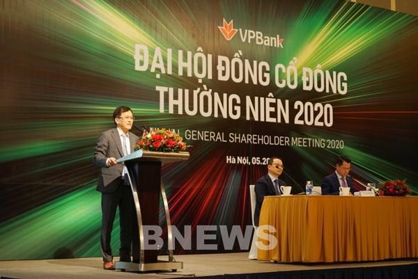 VPBank đặt mục tiêu lợi nhuận năm 2020 giảm nhẹ so với năm trước