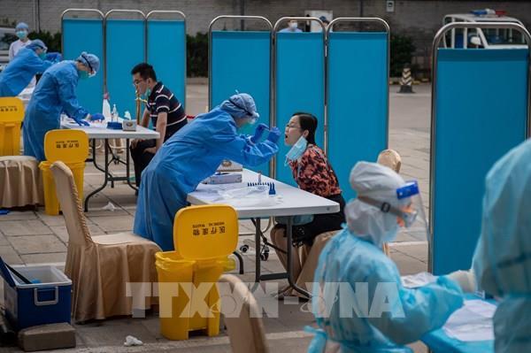 Trung Quốc không có thêm ca lây nhiễm trong cộng đồng