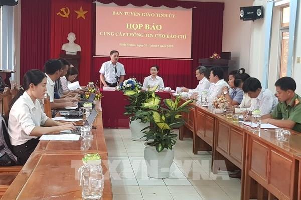 Tòa án Nhân dân tỉnh Bình Phước khẳng định không xử oan ông Lương Hữu Phước