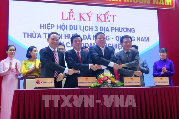 Ba tỉnh, thành phố miền Trung liên kết hành động phục hồi và phát triển du lịch