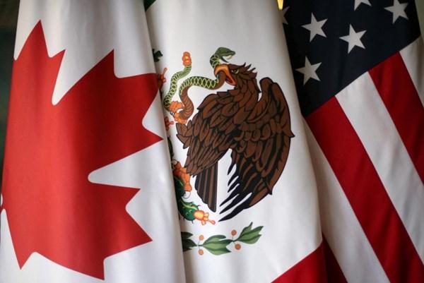 """Căng thẳng Mỹ-Trung làm """"tăng giá trị"""" của NAFTA phiên bản mới"""