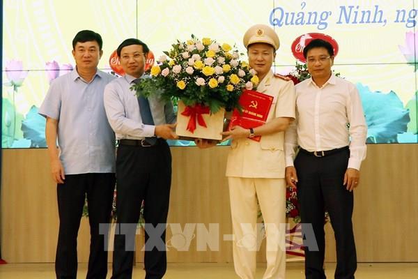 Bộ Công an công bố quyết định bổ nhiệm Giám đốc Công an tỉnh Quảng Ninh