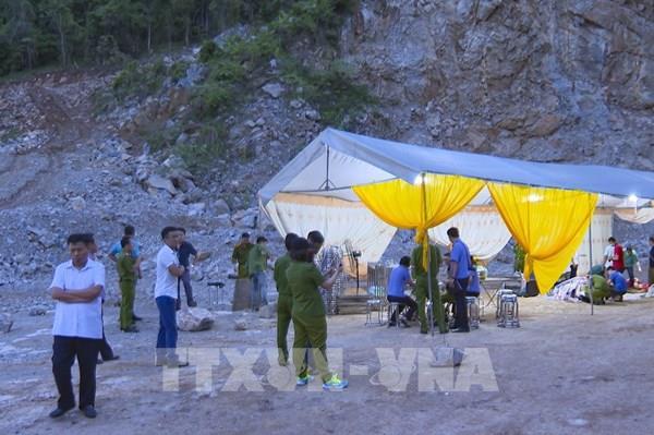 Tai nạn lao động tại mỏ đá khiến 2 người tử vong, 1 người chưa tìm thấy