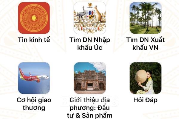 Ra mắt ứng dụng hỗ trợ doanh nghiệp xuất khẩu, kết nối Việt Nam và Australia