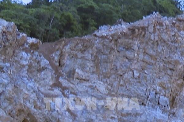 Chưa tìm được nạn nhân cuối cùng vụ tai nạn mỏ đá ở Điện Biên