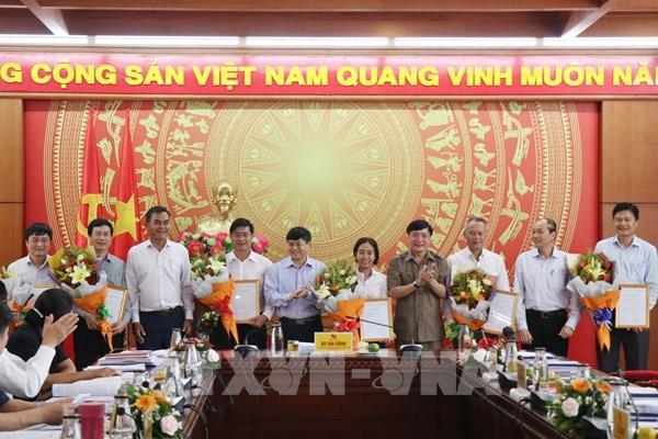 Ban Bí thư công bố 6 quyết định về công tác nhân sự tại Đắk Lắk