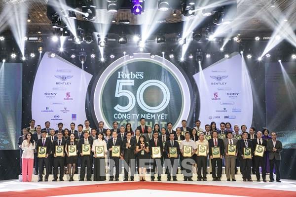 PV GAS lọt Top 50 công ty niêm yết tốt nhất Việt Nam năm 2020