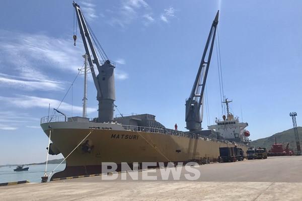 Sắp khai trương tuyến dịch vụ vận tải trực tiếp từ cảng Quy Nhơn đi Đông Bắc Á
