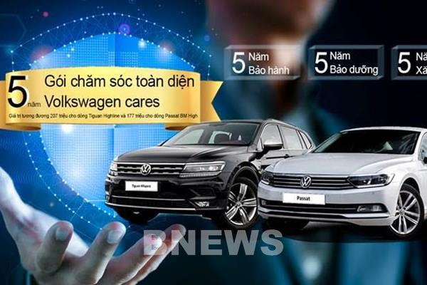 Bảng giá xe Volkswagen tháng 6/2020, khuyến mại gần 210 triệu đồng