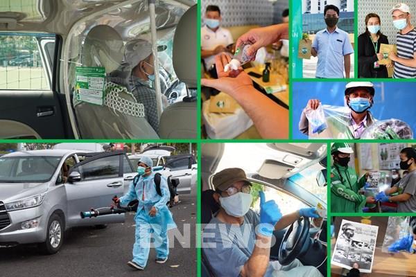 Grab thêm giải pháp về tiêu chuẩn an toàn và vệ sinh cho dịch vụ đặt xe
