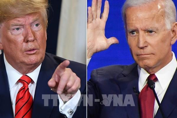 Bầu cử Mỹ 2020: Ông Biden lại vượt Tổng thống Trump trong cuộc thăm dò dư luận