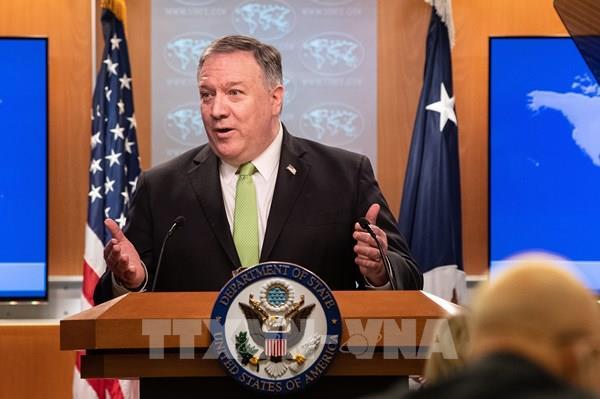Ngoại trưởng Mike Pompeo: Mỹ phản đối yêu sách chủ quyền của Trung Quốc tại Biển Đông