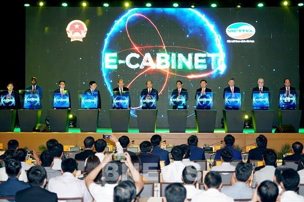 Viettel e-Cabinet khởi đầu cho Chính phủ số nhận giải thưởng Sao Khuê 2020