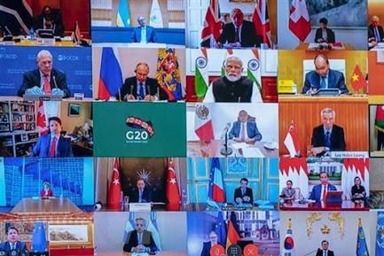 G7 nhất trí kế hoạch hỗ trợ thanh toán nợ của G20